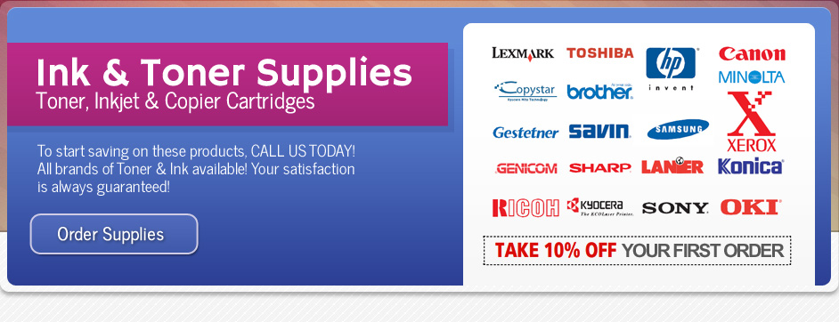 Ink and Toner Suppies